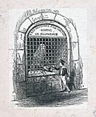 Fleet Prison, London, c1800