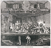 Field Lane Lodging House, London, 1847