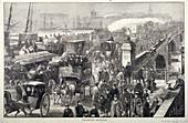 London Bridge (new), London, 1872
