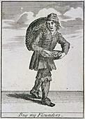 Buy my Flounders', Cries of London