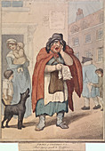 Last dying speech and Confession', Cries of London, 1799