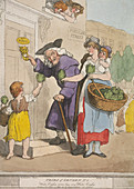 Water Cress Seller, Cries of London, 1799