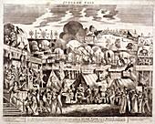 Jubilee Fair, Hyde Park, London, 1814