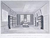 Mr Pepys' library, York Buildings, London, c1670
