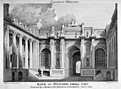 Lothbury Court, the Bank of England. City of London, 1803