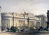 View of The Bank of England, City of London, 1854