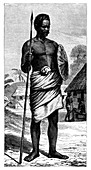 Malagasy Warrior', 19th century