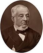 Warren de la Rue, British astronomer and physicist, 1882