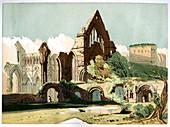Dryburgh Abbey, c1850