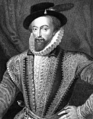 Sir Walter Raleigh, English writer, poet and explorer