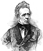 Hans Christian Oersted, Danish physicist, 1851