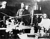 Pierre and Marie Curie, French scientists