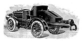 Renard's tractor unit, French, 1904