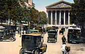 Rue Royale and the Madeleine, Paris, c1900