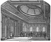 Telling room, National Bank of Scotland, Glasgow, c1860