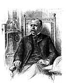 J Edward Simmons, President of New York Stock Exchange, 1885