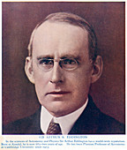 Arthur Stanley Eddington, British astronomer and physicist