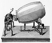 Mid-19th century Phonautograph, c.1906