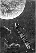 Jules Verne, De la Terre a la Lune, 1865