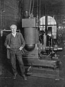 Thomas Alva Edison, American inventor