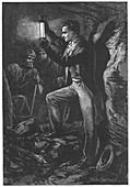 Humphry Davy English chemist, c1880