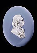 Wedgewood plaque of Joseph Priestley