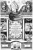 Title page of Samuel Sturmy, Mariners Magazine, London, 1669