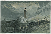 Third Eddystone lighthouse, 19th century