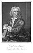 Carolus Linnaeus, 18th century Swedish naturalist