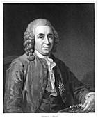 Carolus Linnaeus, 18th century Swedish naturalist, 1835