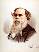 Titus Salt, British woolstapler and industrialist, c1880