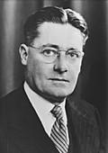 Howard Walter Florey, Australian pathologist, c1945