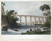 Viaduct on the Baltimore & Washington Railroad, c1838
