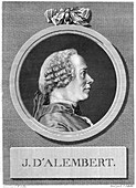 Jean le Rond d'Alembert, French mathematician