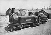 Ffestiniog Railway steam Locomotive, 1872