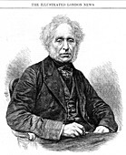 David Brewster, Scottish physicist, 1868