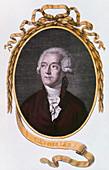 Antoine Laurent Lavoisier, 18th century French chemist, 1801