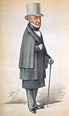 Roderick Impey Murchison, Scottish geologist, 1870