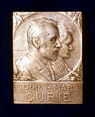 Pierre and Marie Curie, French physicists