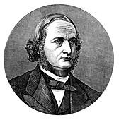 Gustav Robert Kirchhoff, German physicist, 1876