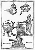 Distillation of Oil of Vitriol, 1651