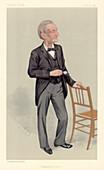 John Hall Gladstone, English chemist, 1891