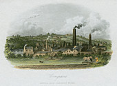 British Iron Company's Works, West Midlands, c1835