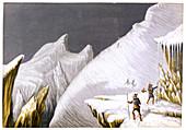 The Mur de la Cote', c1855