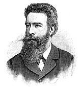 Wilhelm Konrad von Rontgen, German physicist, 1902.