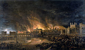 The Great Fire of London, 1666'