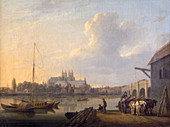 Westminster from the South', c1810