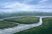 Valley of the River Colne, Southern England, 8000 BC