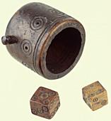 Roman dice set