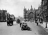 Old Palace Yard leading towards Whitehall, London, c1920s